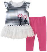 Kids Headquarters 2-Pc. Tunic & Leggings Set, Toddler Girls