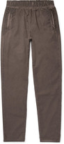 Bottega Veneta - Slim-fit Garment-dyed Cotton Trousers