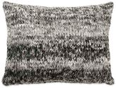 DKNY City Pleat Knit Oblong Throw Pillow in Graphite