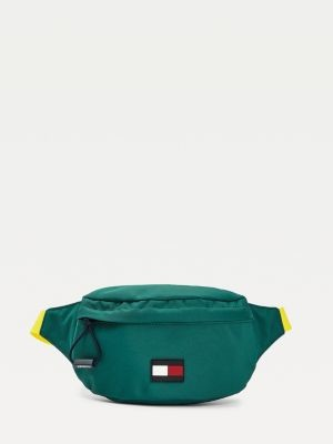 Tommy Hilfiger Kids' Rubberised Flag Bum Bag