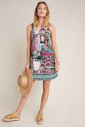 Anthropologie Amelia Mini Shift Dress By in Pink Size L