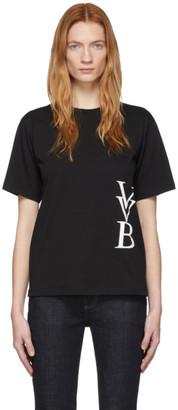 Victoria Victoria Beckham Black Logo T-Shirt