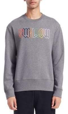 McQ Embroidered Swallow Sweatshirt
