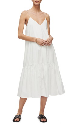 Anine Bing Averie Sleeveless Midi Dress