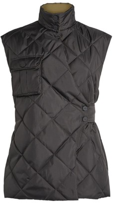 Ganni Quilted Gilet