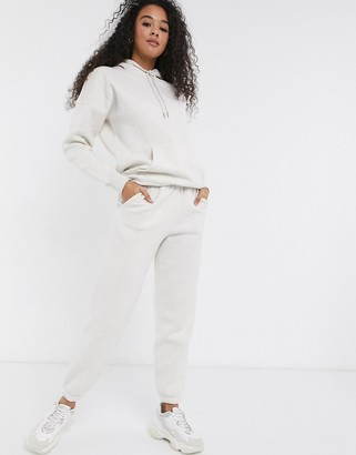 New Look cuffed jogger in oatmeal