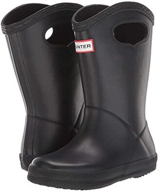 Hunter First Classic Pull-On (Toddler/Little Kid) (Black) Kid's Shoes