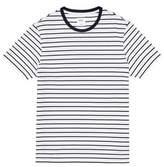 Burton Mens And Navy Pique Stripe T-Shirt
