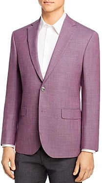 Jack Victor Basketweave Melange Regular Fit Sport Coat