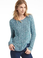 Chunky open-neck sweater