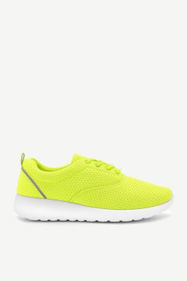 Ardene Reflective Knit Neon Sneakers