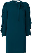 L'Autre Chose ruffled sleeve dress