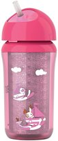 Avent Naturally Philips Insulated Straw Cup 9 Ounce, 1 Pack - Pink