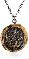 Pyrrha Bronze Fidelity Talisman Necklace