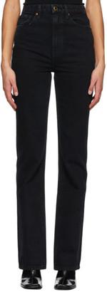 KHAITE Navy Danielle Jeans
