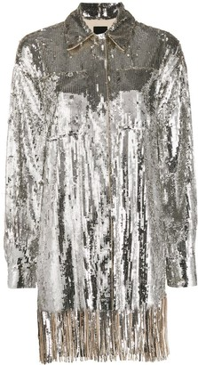 Pinko Sequin Embroidered Shirt