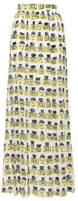 Boutique Moschino Printed Crepe Maxi Skirt