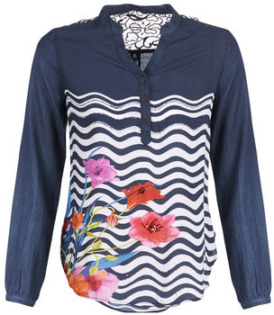 Desigual LIUBA women's Shirt in Blue