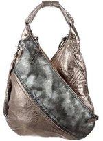 Botkier Metallic Leather Shoulder Bag