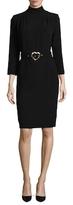 Love Moschino Belted Sheath Dress