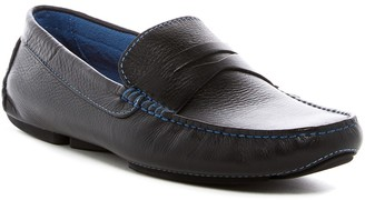 Donald J Pliner Varran Leather Penny Loafer
