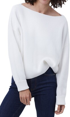 French Connection Millie Mozart Boat Neck Sweater