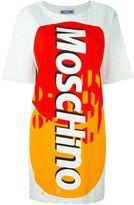 Moschino credit card logo dress
