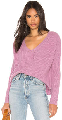 One Grey Day Paxton Pink Pullover