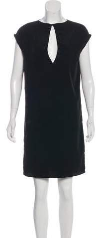 Maison Margiela V-Neck Knee-Length Dress