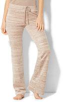 New York & Co. Lounge - Velour Pant - Space Dye