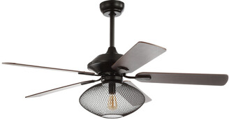 Jonathan Y Designs Clift 52In 1-Light Mid-Century Led Ceiling Fan With Remote