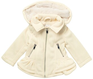 Urban Republic Fleece Ruffle Jacket