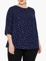 Studio 8 Brooke Spot Top, Blue