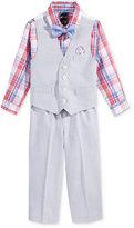 Nautica 4-Pc. Shirt, Vest, Pants and Bow Tie Set, Toddler & Little Boys (2T-7)