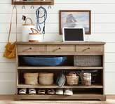 Pottery Barn Samantha Smart Technology Console Table, Seadrift