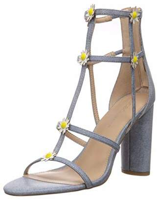 BCBGeneration Women's Jordan Caged Sandal Heeled