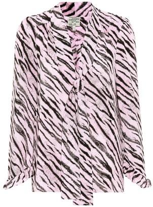 Baum und Pferdgarten Exclusive to Mytheresa a Malia tiger-printed blouse