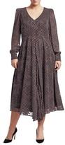 Thumbnail for your product : Marina Rinaldi, Plus Size Square Print Long Sleeve Dress