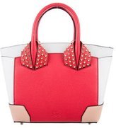 Christian Louboutin Tricolor Leather Satchel