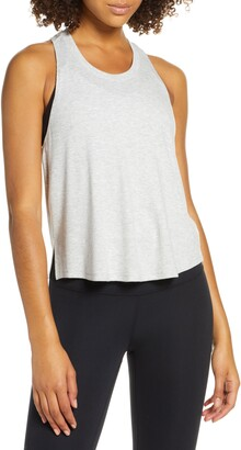 Zella Splits Ribbed Tank