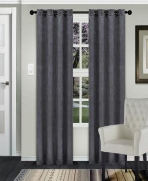 "Superior Waverly Textured Blackout Curtain, Set of 2, 52"" x 96"""
