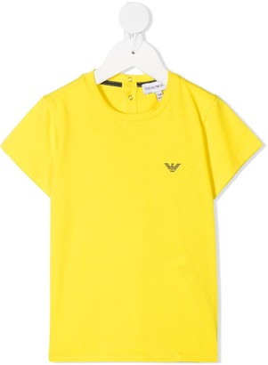Emporio Armani Kids logo-print T-shirt