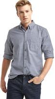 Gap Oxford slub slim fit shirt
