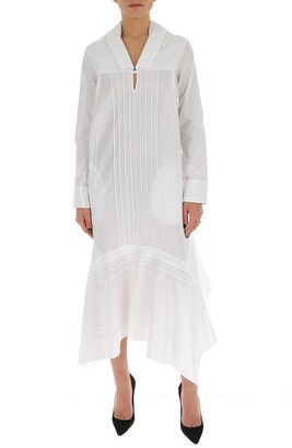 Jil Sander Asymmetric Hem Dress