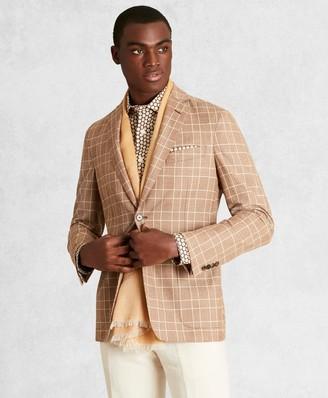 Brooks Brothers Golden Fleece Wool-Blend Check Twill Sport Coat