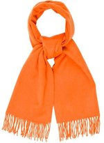 Hermes Embroidered Cashmere Scarf