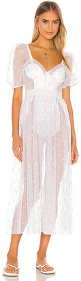 For Love & Lemons Frescia Maxi Dress