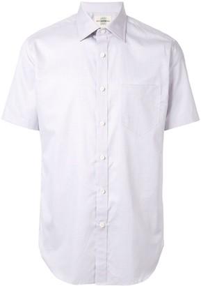 Kent & Curwen short-sleeve fitted shirt
