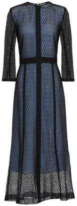 Victoria Beckham Layered Lace Midi Dress