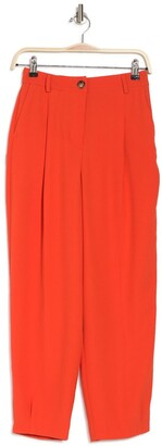 Topshop Lily Pleated High Waist Pants